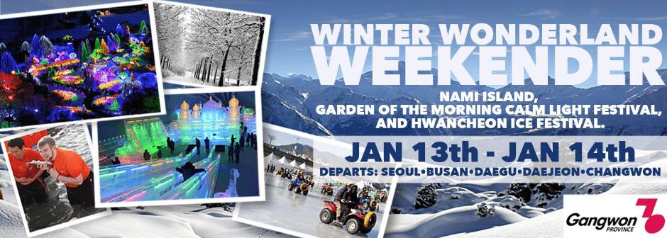 Winter Wonderland Weekend 2018