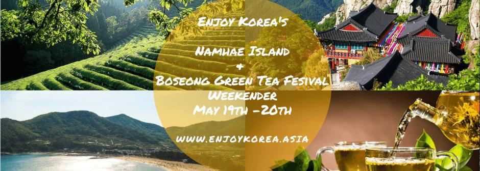 Namhae Island & Boseong Green Tea Fields Weekender 2018